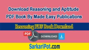 Download Reasoning and Aptitude PDF